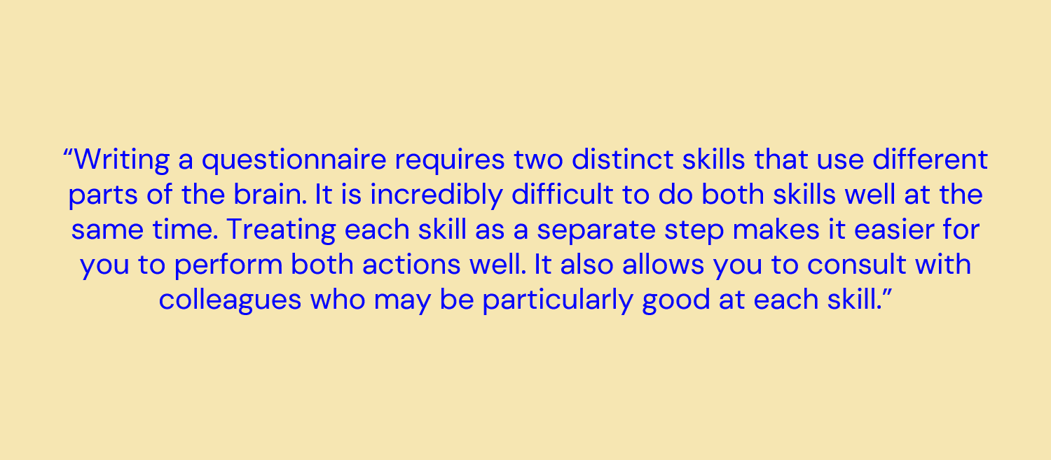 different skills quote